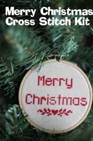 merry christmas cross stitch pattern tutorial special