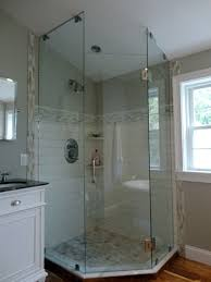 Glass Door For Shower Stall Interior Shower Stalls With Glass Doors Unique Bathroom Mirrors