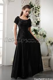 modest bridesmaid dresses black modest bridesmaid dress with sleeves img 0269 1st dress