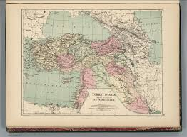 Asia Minor Map by Turkey In Asia Asia Minor And Transcaucasia David Rumsey