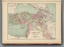 Asia Minor Map Turkey In Asia Asia Minor And Transcaucasia David Rumsey