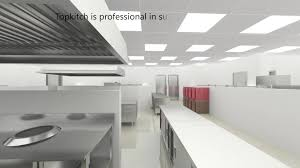 high quality cad layout 3d design kitchen laundry commercial using