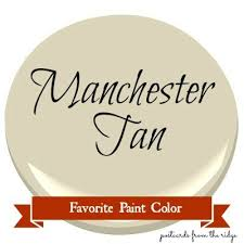 favorite paint color benjamin moore manchester tan postcards