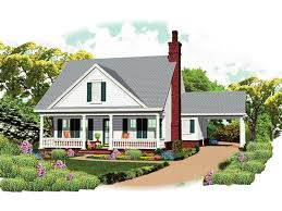 Cottage House Plans With Porte Cochere by Grayson Place Country Home Plan 087d 1672 House Plans And More