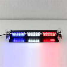 red and white led emergency lights china new warning strobe visor led emergency lights from wenzhou