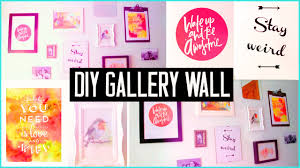 diy room decor design your wall arts u0026 make your own gallery wall