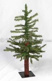 2 foot primitive alpine skinny christmas tree christmas trees