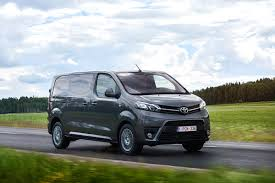 van toyota toyota proace review auto express