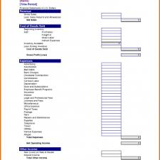 examples of profit and loss statement turnover report template