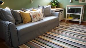 sofa tour space saving ideas with a sofa bed ikea home tour