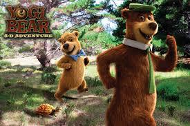 yogi bear yogi bear 4d movie at stone mountain park stone mountain ga http