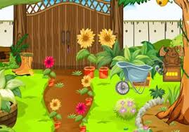 flowers garden escape escape fan