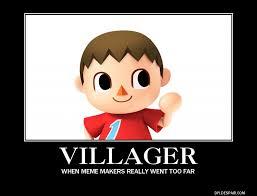 The Villager Meme - villager demotivational poster by comicreadinggamer on deviantart