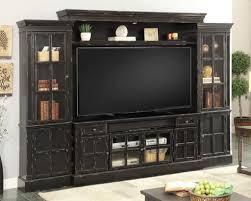 sauder black bookcase wall units astonishing entertainment center wall units charming