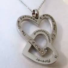 and granddaughter necklace the between a and granddaughter is forever necklace