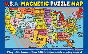 map usa for ata boy magnetic usa map play n learn puzzle board