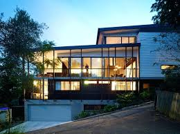 steep slope house plans slope home design house slope block home designs evisu info