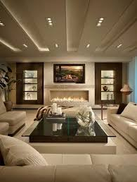 lovely brown and beige living room and modern living room design