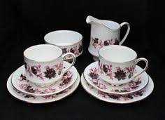 vintage lubern bone china 12 piece tea set lily of the valley