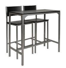 essgruppe küche 3 teilige essgruppe stühle und hoher tisch für küche esszimmer
