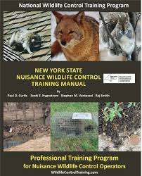 Training information for wildlife control operators research