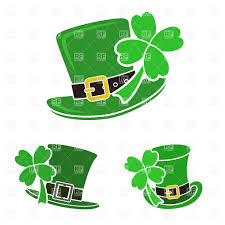 green leprechaun u0027s top hat with shamrock st patrick u0027s day