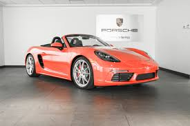 red porsche boxster 2017 2017 porsche boxster 718 s for sale in colorado springs co p2700
