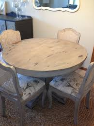 dining table u0026 chairs refinished in cece caldwell chalk u0026 clay