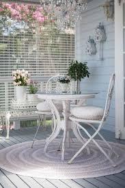 Veranda Living Outdoor Rugs Patios Y Terrazas En Estilo Shabby Chic Shabby Shabby Chic