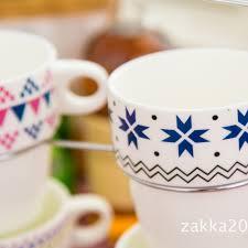 office coffee mugs 4pcs lot new arrival keyama scottish small fresh style ceramic