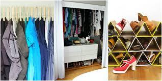 organization hacks for closets
