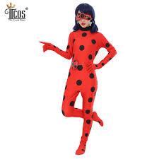 Birthday Halloween Costumes by Aliexpress Com Buy Lady Bug Halloween Costume Woman Miraculous