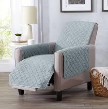 home fashion designs great bay home box cushion recliner slipcover