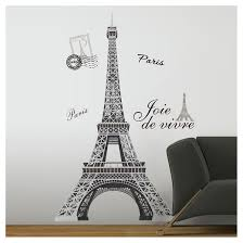 roommates eiffel tower peel stick wall decal target