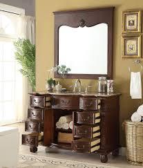 hopkinton bathroom sink vanity w mirror gd 4437b 50mr