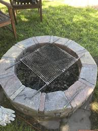 Firepit Grate Outdoor Pit Bbq Grate