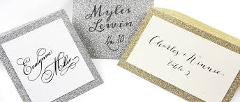 gold silver glitter place cards lci paper