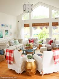 fall home decorating bright airy lake house fall home tour part 1 the happy housie