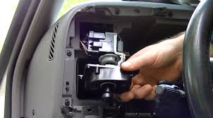 how to repair headlight switch detail dodge ram remove dashboard
