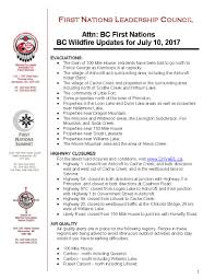 Wildfire Alerts Bc by First Nations Summit On Twitter