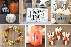 fun fall home décor projects to make now cricut