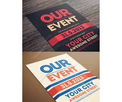 format event flyer