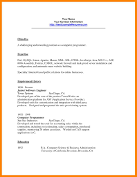 sle resume for patient service associate salary 12 computer programming resumes job apply form