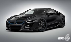 Bmw I8 Exhaust - german special customs previews the bmw i8 itron