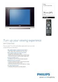 download free pdf for philips 29pt5607 tv manual