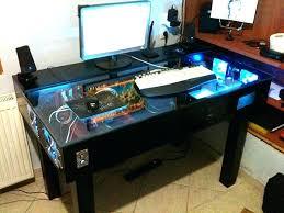 Computer Built Into Desk Desk Built In Computer Desk Designs Computer Built Into Desk