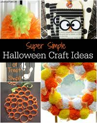 Make Halloween Crafts by Quick And Easy Halloween Crafts For Kids To Make 1000 Images About