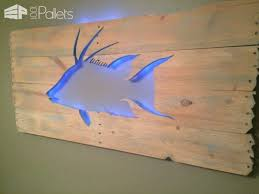 beautiful backlit pallet wall pallet wall decor pallet