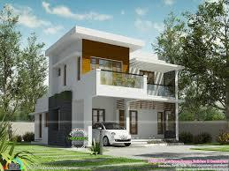 Cute House by U20b932 Lakh Cost Estimated Modern House Kerala Home Design