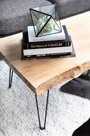 Build A Wood Coffee Table by My Diy Wood Slab Coffee Table